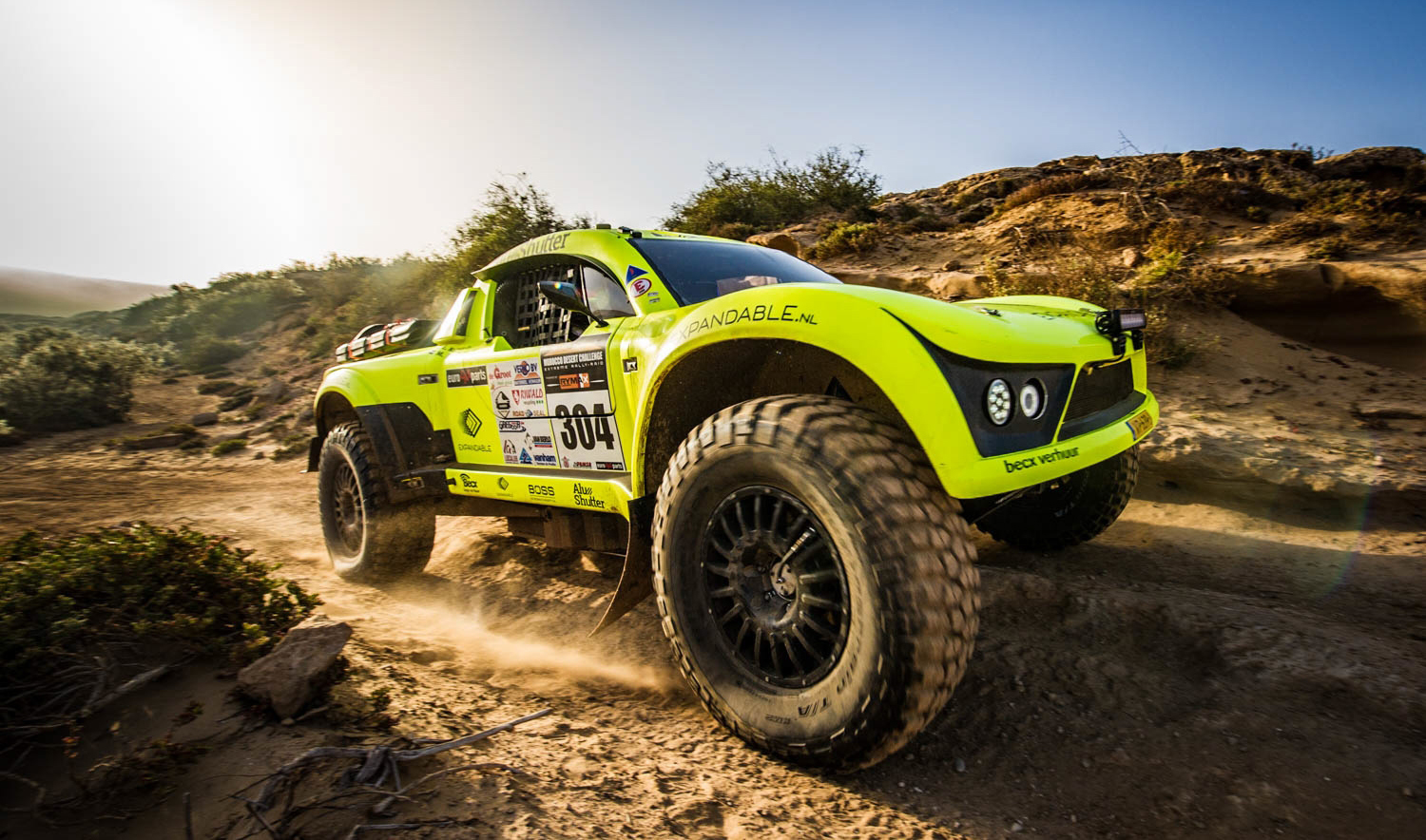 Becx Competition to Dakar 2019