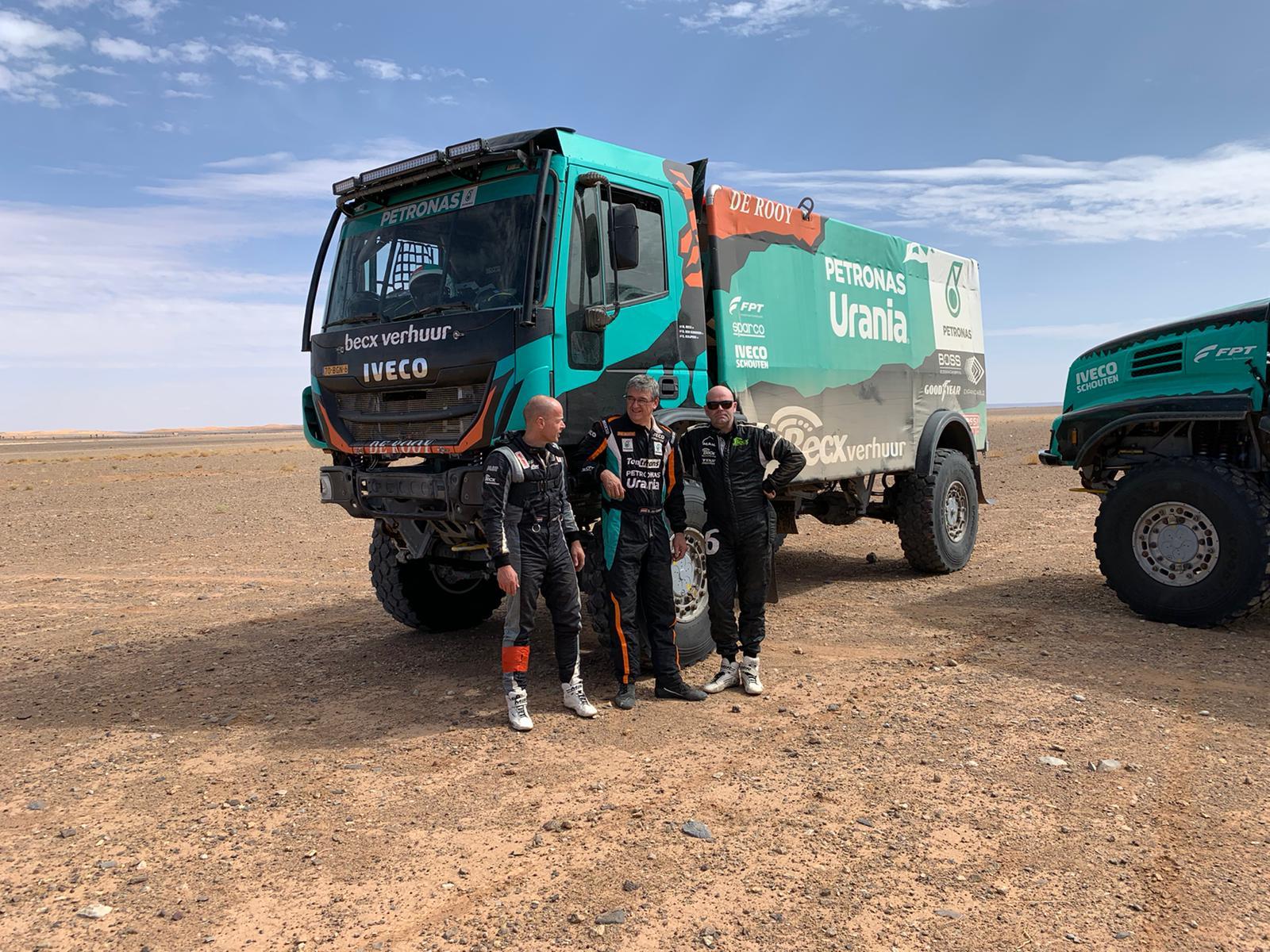Marokko test voor Dakar